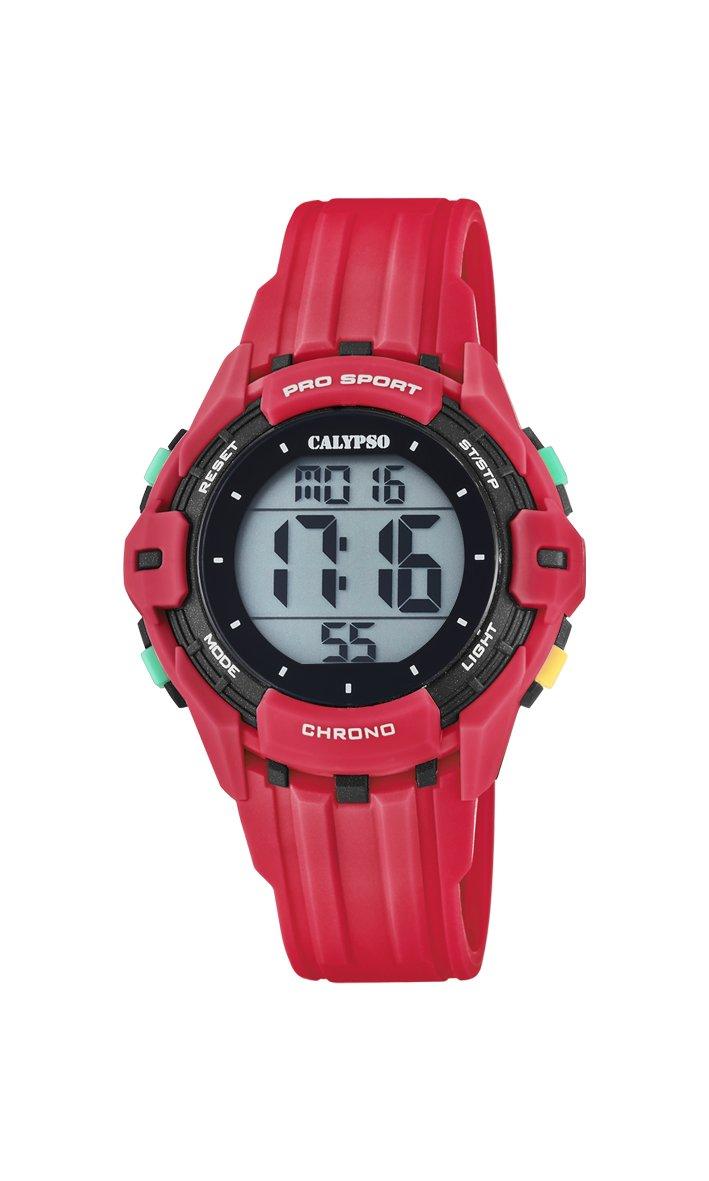Calypso Reloj Digital para Hombre de Cuarzo con Correa en Plástico K5740/3