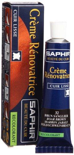Saphir Crème Rénovatrice Et L'usure Bord, Brun, Taille 40