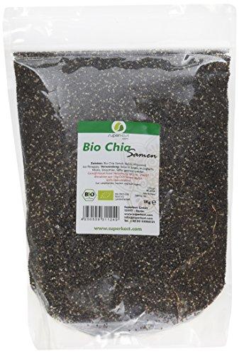 Superkost Bio Chia Samen KbA Organic, 1er Pack (1 x 1 kg)