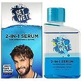 Set Wet 2-In-1 Serum, Soft & Set (Hair Serum For Men), 100 ml