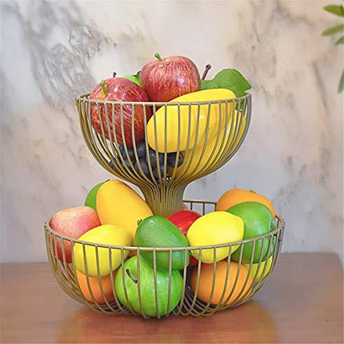ohnzimmer doppeldecker früchtekorb süßigkeiten - Becken im Regal,gelb ()
