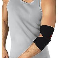 Ellenbogenbandage Neopren Ellenbogen Arm Gelenk Bandage Strumpf Schwarz 5-XL preisvergleich bei billige-tabletten.eu