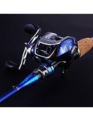 sougayilang Canne à lancer Canne à pêche avec moulinet de pêche Combos gauche/droite
