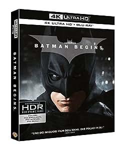 Batman Begins (4K ULTRA HD + Blu Ray)