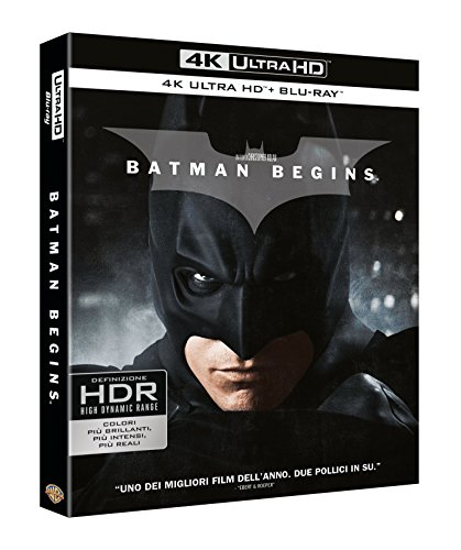 Batman Begins (4K Ultra Hd+Blu Ray) [Blu-ray]
