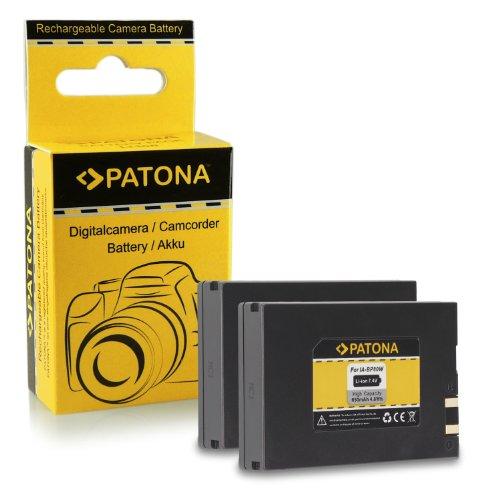 2x batteria ia-bp80w per samsung sc-d381 | sc-d382 | sc-d383 | sc-d385 | sc-dx100 | sc-dx103 | sc-dx105 | sc-dx200 | sc-dx205 | vp-d381 | vp-d382 | vp-d384 | vp-d385 | vp-d391 | vp-d392 | vp-d395...