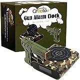 Creatov Zielwecker mit Pistole, Infrarot-Laser und realistischen Soundeffekten, Grün
