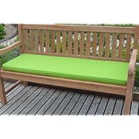4 posti (1,7 m/170,69 cm) Classic cuscino per panchina da giardino - cuscino solo - Apple Green
