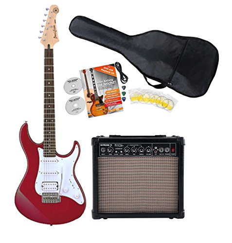 Yamaha Pacifica 012 RM Red E-Gitarre Starter Set