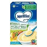 Mellin Pappa Lattea per Bambini Gusto Frutta, 6+ Mesi - 250 gr
