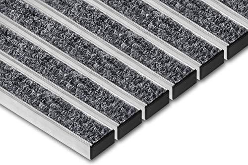 SWmat - Felpudo Aluminio Interior Exterior Alta eficacia