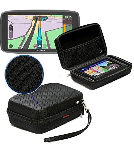 Navitech Schwarz Schock Sicher EVA Schutztasche / Abdeckung / Fall / Gehäuse für TomTom Go Professional 6250