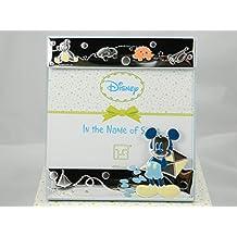 Cornice portafoto Topolino Mickey Mouse in argento Disney