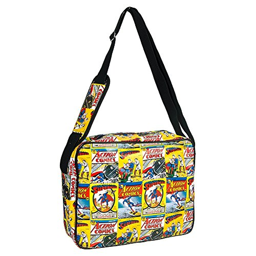 Superman Comic Sac En Bandoulière (Multicolore)