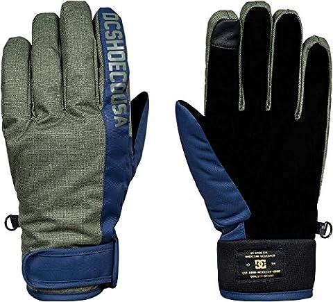 DC Apparel Herren Deadeye-Snowboard/Ski Gloves, Dark Shadow, L (Glove Dark Shadow)