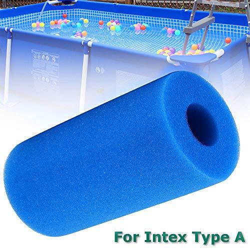 Vvciic Per Intex tipo A riutilizzabile/lavabile Piscina filtro in spugna cartuccia della spugna