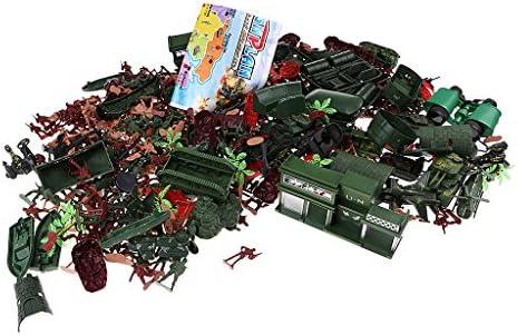 Baosity Kit Modèle Soldats Armée Personnes Figure Militaire Jouet en Plastique Cadeau pour   Garçon | Commandes Sont Les Bienvenues