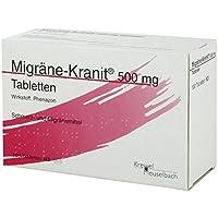 MIGRÄNE KRANIT 500 mg Tabletten 100 St Tabletten preisvergleich bei billige-tabletten.eu
