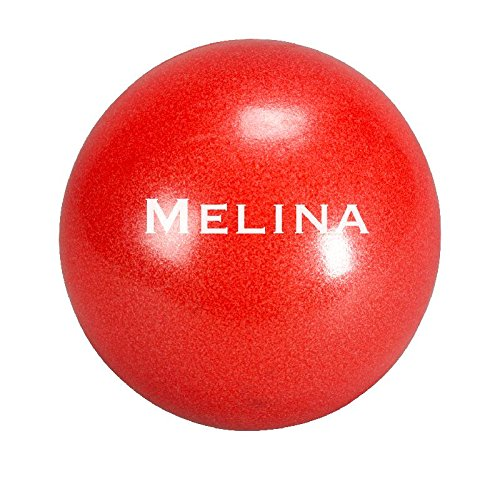 (Trendy Sport Pilates Ball, Therapieball, Fitnessball Melina Ø 30 cm in rot)