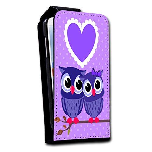 Flip Style vertikal Handy Tasche Case Schutz Hülle Foto Schale Motiv Etui für Apple iPhone 5 / 5S - V2 Design6 Design 10