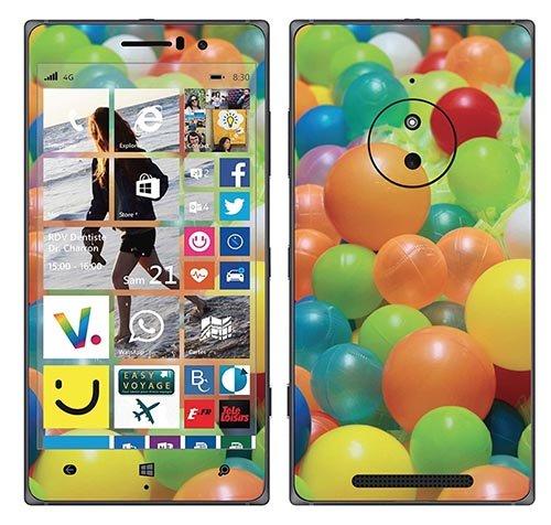 Royal Wandtattoo RS. 98561selbstklebend für Nokia Lumia 830, Motiv Pool Balltaschen