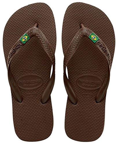 Havaianas Brasil Infradito, Unisex-Adulto, Marrone (Brown 0727), 35/36 EU (33/34 BR)