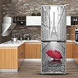 Tsinggs 3D Porte Mur Réfrigérateur Sticker Autocollants Décoration Murale...
