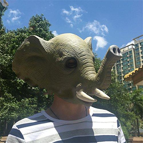 Jack Mall- actuaciones máscaras de Animales de Halloween máscara Divertida tocados (Diseño...