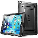 Apple iPad Mini 4 Hülle, SUPCASE Unicorn Beetle PRO Serie Schutzhülle mit eingebauter Displayschutzfolie (Schwarz)