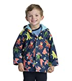 Hatley Boys Printed Rain Jacket, Blue (Mega Monsters), 5 Years
