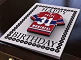 NHL Hockey sur glace Ligue nationale de hockey JERSEY Cartes d'anniversaire – NHL Eastern Conférence Cartes de vœux – N'importe Quel Nom, n'importe quel Nombre, n'importe quelle équipe – Sans personnalisation. Montreal Canadiens NHL Ice Hockey