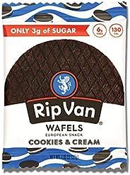 Rip Van Low Sugar Singles Cookies and Cream, 12 X 33g - Pack of 1