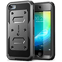 "i-Blason Armorbox 4"" Funda Negro - Fundas para teléfonos Móviles (Funda, Apple, iPod Touch 6 Gen (2015), 10,2 cm (4""), Negro)"