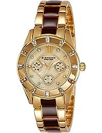 Giordano Analog Champange Dial Women's Watch-P2054-44