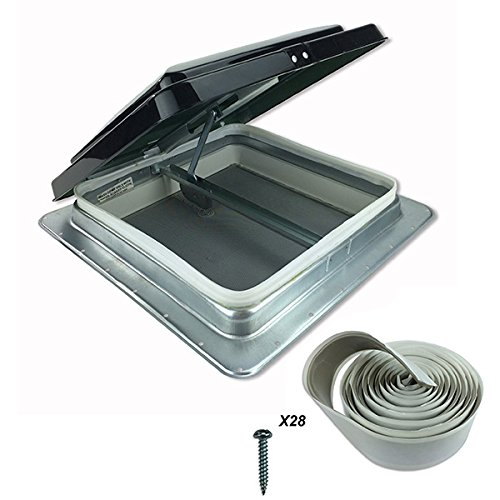 Heng 's 35,6cm RV Camper Trailer Universal Smoke Farbe Cargo Dach Vent 74111- keine Garnierring im lieferumfang enthalten