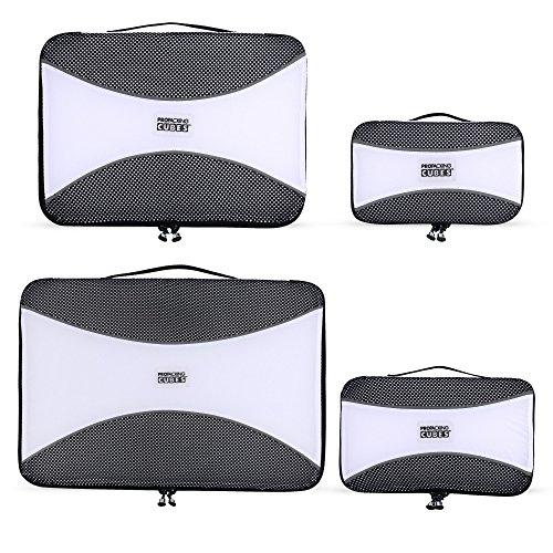 PRO Packwürfel für die Reise - Gepäck Organizer Taschen, Zubehör - Ultraleicht (Kommode Gepäck)