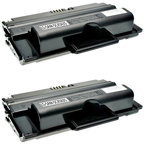 Preisvergleich Produktbild 2 Toner kompatibel zu Samsung SCX-5635FN HN SCX-5638FN SCX-5835FN NX 5800 Seires SCX-5935FN NX 5900 Series - MLT-D2082L/ELS - Schwarz je 10.000 Seiten