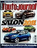 AUTO JOURNAL (L') [No 806] du 01/07/2010 - SPECIAL SALON 2011 / LES STARS MONDIAL - AUDI A1 - CITROEN DS4 - PORSCHE 918 - BMW X3 II - PEUGEOT 208 - LES PRIX - LES EQUIPEMENTS - LES OPTIONS - LES FICHES TECHNIQUES