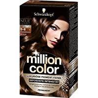 Million Color M560, Million Color Intensiv-Pigment-Farbe 5-6 Magisches Braun Stufe 3, 3er Pack (3 x 126 ml) (Körperpflege)