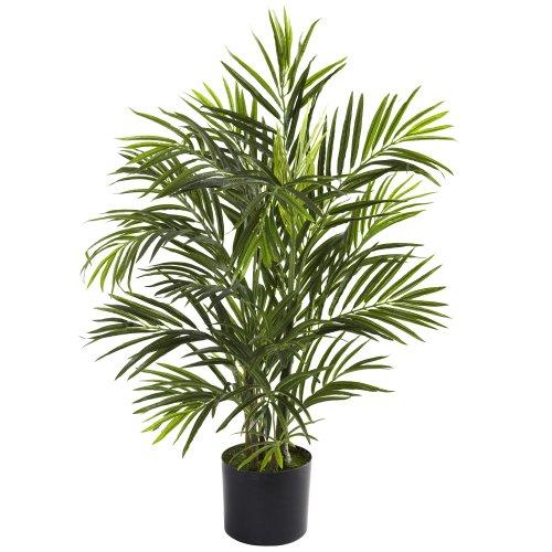 Nearly Natural 5387 Areca Palme UV-beständiger Baum, 7,6 cm, Grün