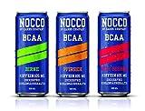 Nocco Bcaa Boisson Variété Paquet Incl. Dépôt - No Glucides Company Remise en Forme Boisson