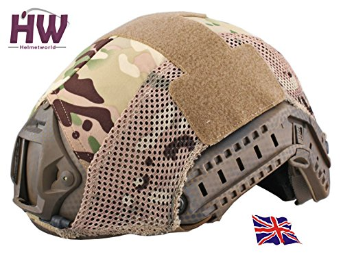 AIRSOFT HELMET COVER OPS CORE JUMP RAIL MULTICAM MTP AT