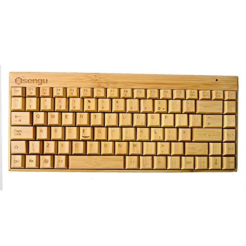 Low-voltage-mini-track (sengu handgefertigt Multimedia Full Bambus Tastatur)