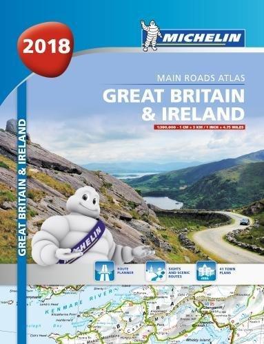 Great Britain & Ireland Atlas 2018 por Michelin