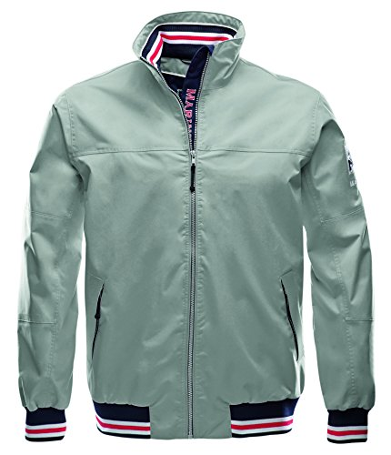 Marinepool Herren Segeljacke Zeebrugge Storm Jacket, lt.Grey, M