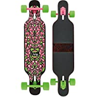 Osprey Skate Kids 'Character completo Longboard monopatín, color verde, talla 39