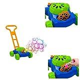 DRULINE Seifenblasen Rasenmäher Maschine Kinder Spielzeug Garten Auto-blase Geschenk NEU