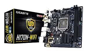 Gigabyte GA-H170N-WIFI Mini Itx S.1151 Scheda Madre, Nero