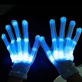 PIXNOR LED iluminación guantes , dedos que...