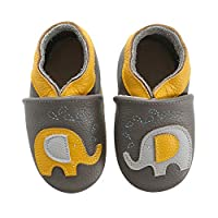 Cartoon Baby Moccasin Soft Leather Toddler First Walker Infant Shoes 0-24 Months